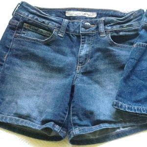 THREE pairs - Girls Jean Shorts - Sz. 12